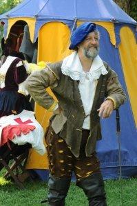 08 Dan Cheatham smiling at tent RLB