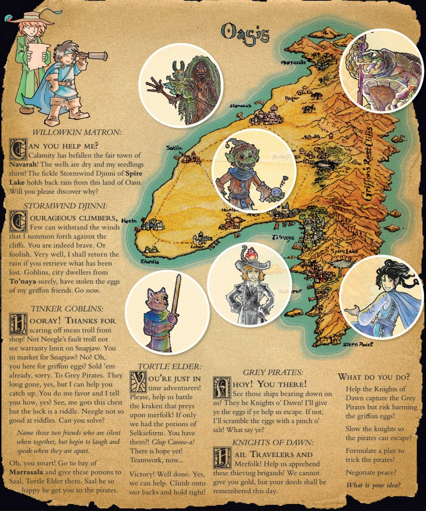 Tour of Adventure Quest LARP